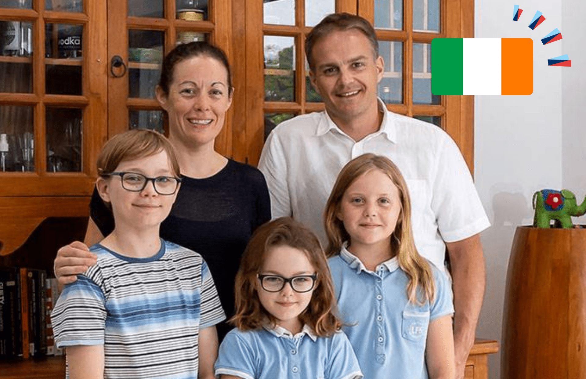 Expat Living Hughes Family Irish
